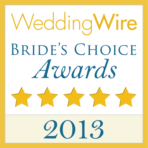 WeddingWire 2013 Bride's Choice Award