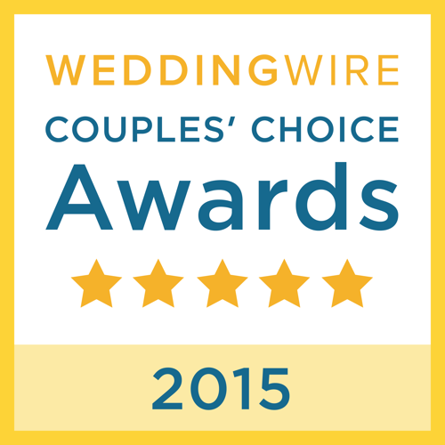 WeddingWire 2015 Couple's Choice Award
